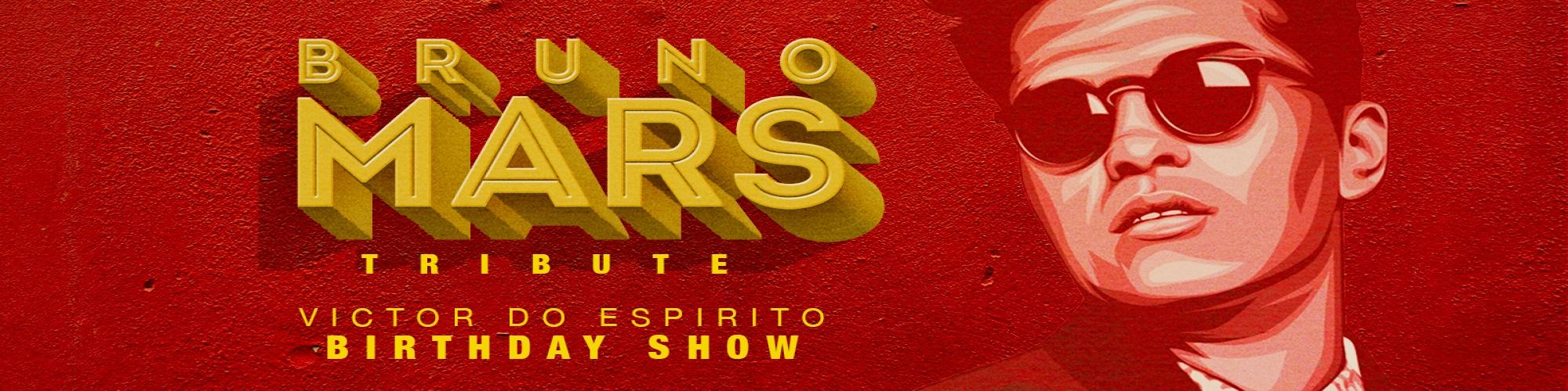BRUNO MARS - BIRTHDAY SHOW