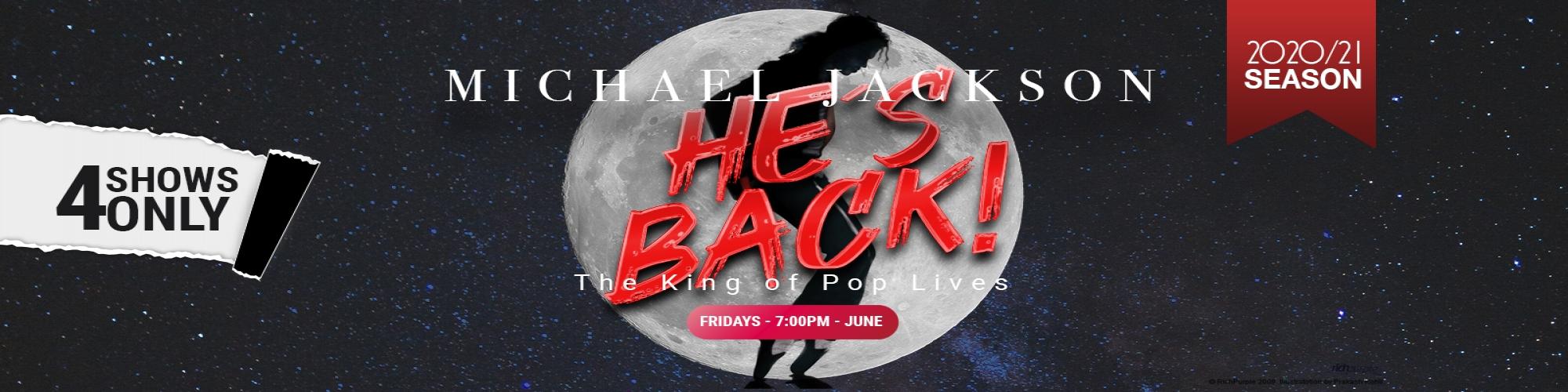 MICHAEL JACKSON:  HE'S BACK!